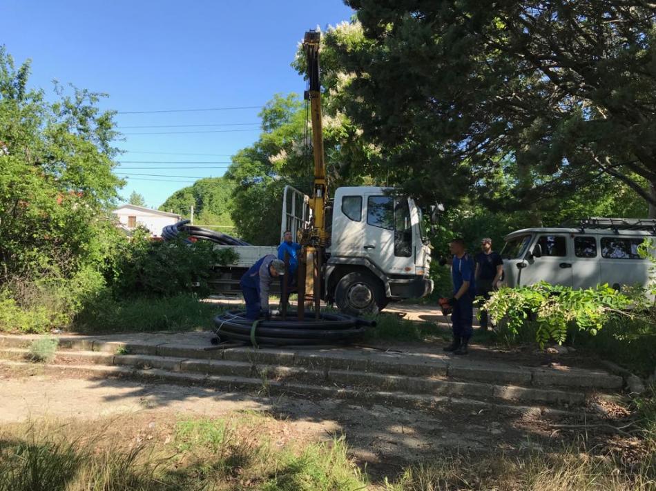 """Строительство газопровода среднего давления расположенного в Республике Крым, г. Севастополь, АО """"Оздоровительно-санитарный комплекс """"Альбатрос""""."""